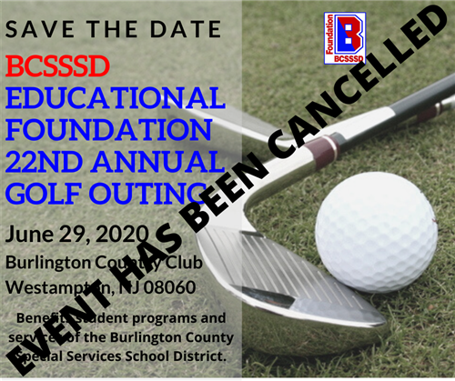 Annual Golf Outing Cancelled
